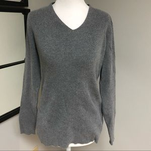 Orvis ribbed sweater